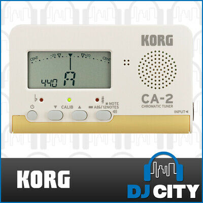 Korg CA-2 Chromatic Tuner for Brass / Strings / Orchestra / Woodwind / Keyboard