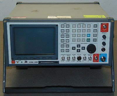 IFR COM-120B Synthesized Communications Service Monitor 100kHz-1GHz Low Hours