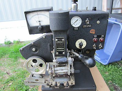 Vintage Kingsley Cable Stamping Machine Kwe-7B
