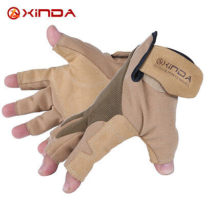 Xinda downhill glove rescue hand rope cords reduction outdoor half refers/L