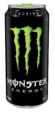 Monster Energy Original 16 Ounce (Pack of 24) 16 Ounce (Pack of 24) FFP