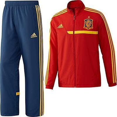 Adidas Spain Tracksuit Red 100% Authentic