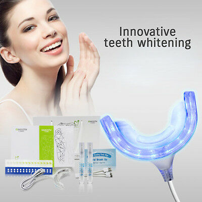 iSMOOTH Innovative Whitening Teeth Kit LED Cold Light Homespa Plaque Remove