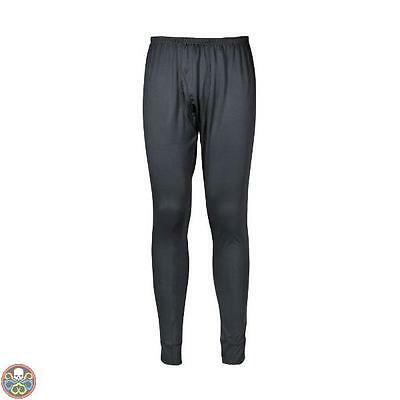 Portwest Tg: Large Antracite B131Chal Pantaloni Termici Nuovo