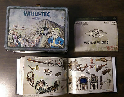 Fallout 3 Limited Edition Tin Lunchbox - Conceptual Artwork and Making of DVD