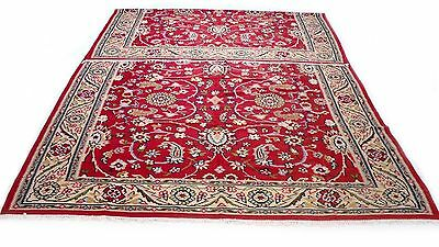 """Antique vintage Persian handmade hand-knotted  rug  (84"""" X 167"""") pure wool  #105"""
