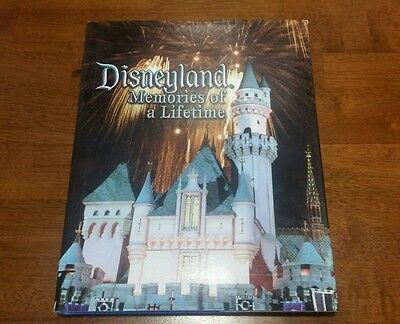 Disneyland Memories of a Lifetime-Story of & History of Photograph Book HC