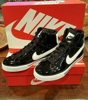 Nike Womans Shoes Sweet Classic High Basket Ball Black