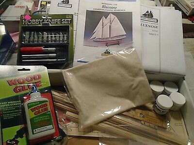 Bluenose Canadian fishing Schooner model shipways model new in the box