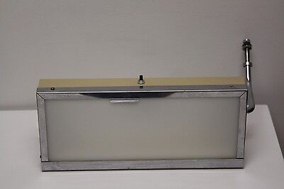 VINTAGE X-RAY LIGHT BOX DENTAL Medical OFFICE Industrial Arm Works