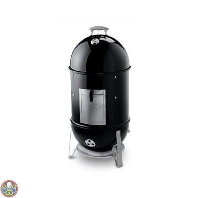 Weber Black, Affumicatoio A Carbonella ^smokey Mountain Cooker^ 47 Cm - Nuovo