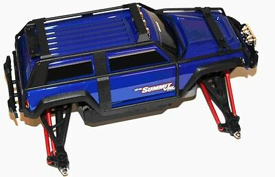 Traxxas 1/16 Summit 4x4 Complete Roller Rolling Chassis w/ Decal Blue 72076 76