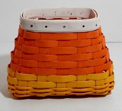LONGABERGER~2016~Candy Corn Basket~HALLOWEEN~NEW~READY TO SHIP!