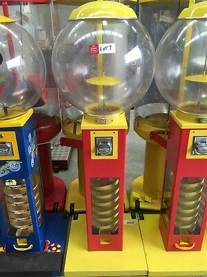 Bouncing ball vending machine  $2 vending machine, no keys