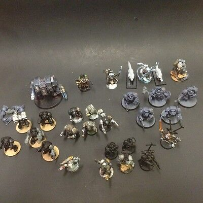 Space wolf army lot terminators Warhammer 40k marines