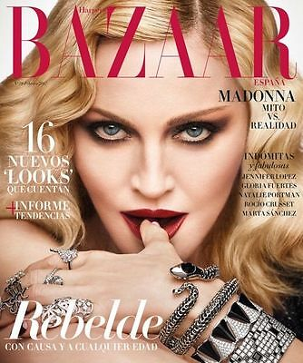 ★ Harper's Bazaar Spain February 2017 Madonna, Jennifer Lopez Marta Sanchez New