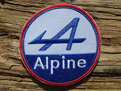 ECUSSON PATCH THERMOCOLLANT aufnaher toppa ALPINE a106 a108 a110 renault r5 a310