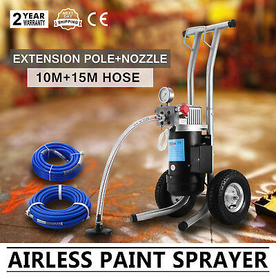 NEW 3.5HP Airless Paint Sprayer DIY 3.8L/min Spray Gun Painting Machine Pop