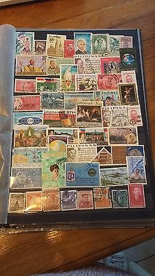 50 timbres Philippines (lot 29)