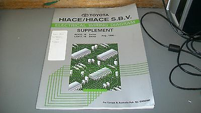 Toyota Workshop Repair Manualsupplement,electrical Wiring,hiace/hiace S.b.v.1996