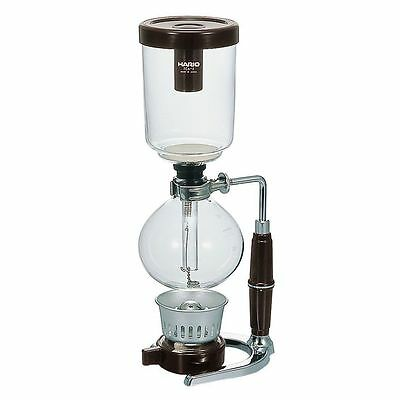 Hario Technica 3-Cup Coffee Syphon Machine Pot Beans Brew Cup NEW