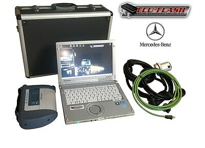 MERCEDES STAR Full Dealer diagnostic System - 07.2016 Latest C4 SDConnect Inc