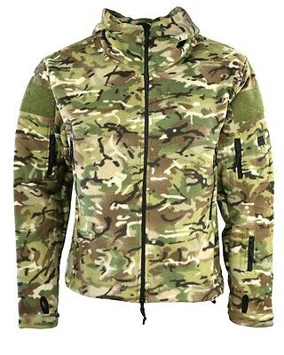 Kombat UK Recon army military Tactical Hoodie jacket fleece Camouflaged btp