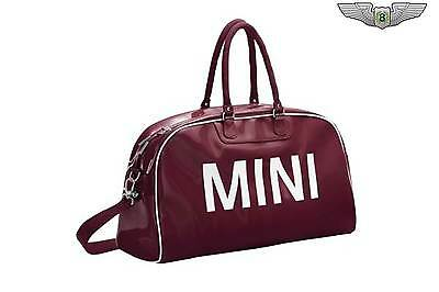 BMW MINI New Genuine Retro Cordovan Holdall Travel Sports Duffle Bag 80222287994