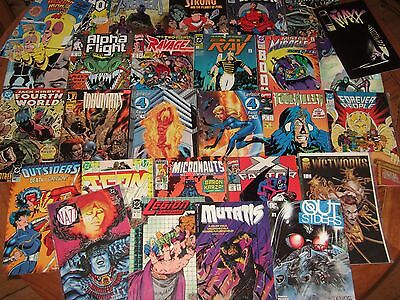60 x MIXED DC/MARVEL etc Comic Books. Good - Excellent condition. Mixed content