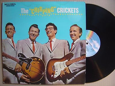 BUDDY HOLLY the chirping crickets UK LP MCA*MONO*RAINBOW SERIES*