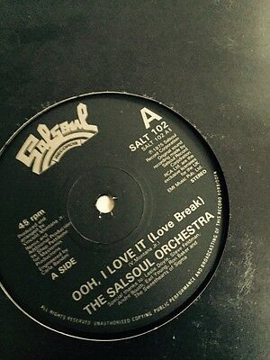 """The Salsoul Orchestra - Ohh, I Love It (love Break) 12"""" Single"""