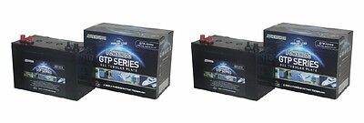 2 X 110 AH Powabloc Tubular Gel Ultra Deep Cycle Leisure BatterY 6 Year Warranty