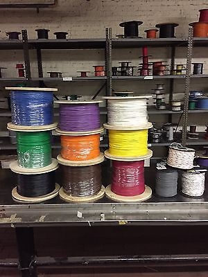 UL1015 18 AWG 16/30 STRANDED TIN COPPER WIRE, 100' ANY COLOR, 105 C 600 Volt