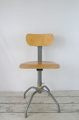 Industrial Bevco Stool Lab Stool Office Stool Drafting Stool Industrial