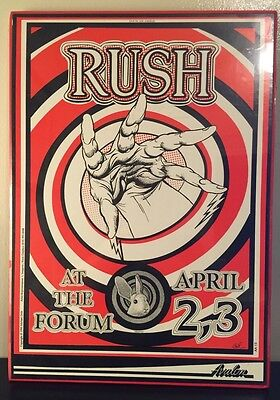 Rush - Presto Tour Poster (Dry Mounted/ READY TO HANG) RARE