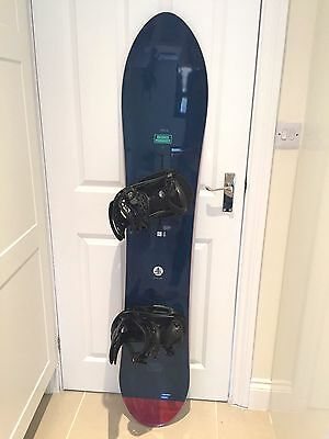 Burton Branch Manager Snowboard with Genesis EST Bindings Best Set Up To Date!!