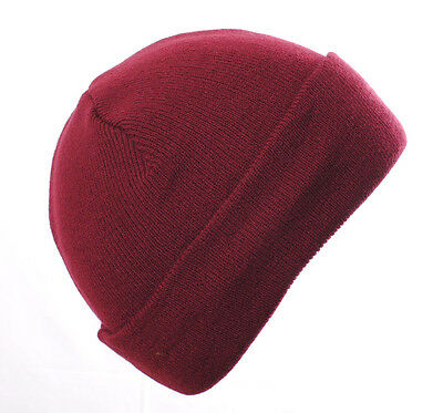 Wholesale Clearance Burgundy Walt Beanie. Slouchy or Turn up.