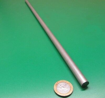 "304 Stainless Steel Rod, 10 mm Diameter (-.043mm"") x 18 Inch Length, 1 pcs"