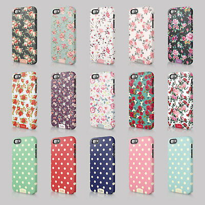 Tirita Shabby Chic Floral Retro Phone Case Hard Cover For Iphone