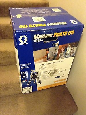 Graco Magnum ProLTS 170 Electric Airless Paint Sprayer, Pro Series