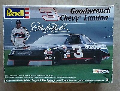 Chevy Lumina Dale Earnhardt #3 1:24 Scale Revell Goodwrench