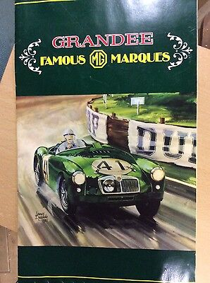 Grandee Famous MG Marques Picture Card Wall Chart