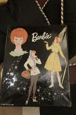 1963 Mattel Barbie Doll Case, Vintage Plus Large Lot Of Clothes & Dolls