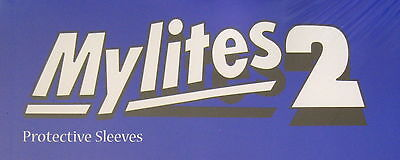 MYLITES2 x 20.GOLDEN AGE COMIC BOOK SIZE 8'' x 10.5''.MYLAR COMIC BAGS/SLEEVES.