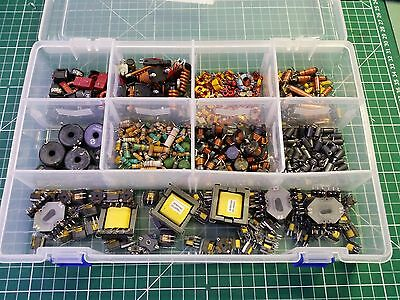 Collection Of Inductors ,  Coils And Chokes