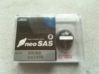 JICO VN35HE neo SAS/S stylus for SHURE V15TYPE3 Japan Free Shipping w/ Tracking