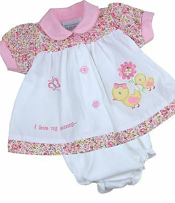 BabyPrem Baby Clothes Girls Premature Preemie Tiny Baby & NB Dress Little Ducks
