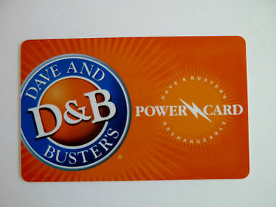 RARE Vintage Antique collectible Dave and Busters Power Card Player Casino Game