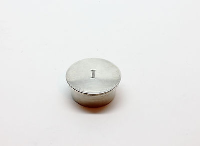 Rare Hallmarked Solid Sterling Silver Pyx / Communion Holy Oil Stock Box