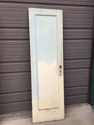 An 151 Antique Pine Passage Door 23 0.625 X 80